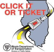 Click It or Ticket - Visit the Bluck Up Illinois website.