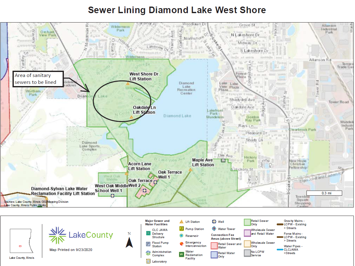 Sewer Lining Diamond Lake