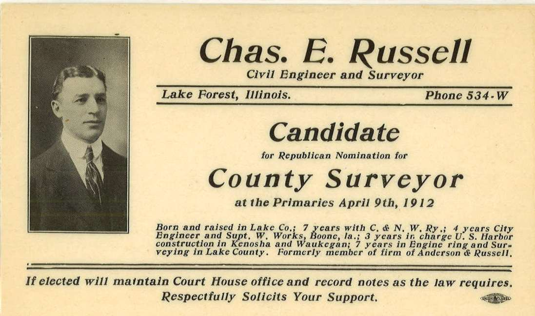 1912 election material