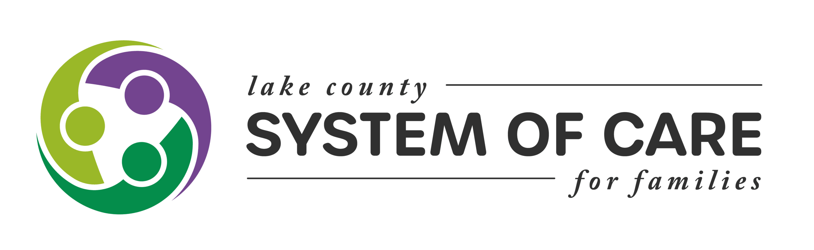 Lake County System of Care for Families logo